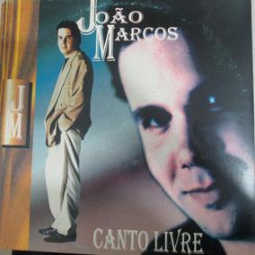 Lp João Marcos - Canto Livre Excelente + Encarte