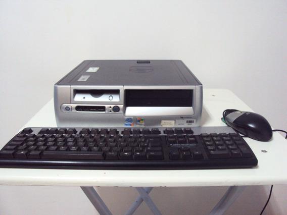 Computador Hp Compaq Dc5000 Sff Pentium 4 Hd 160gb 768mb Ram