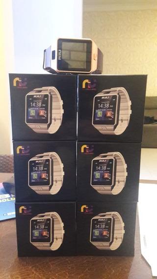 2 Relógio Riu Smart Riu Watch R-160 - R160-01 Dourado