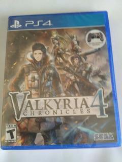 Valkyria Chronicles 4 Ps4 Nuevo Sellado Envio Gratis