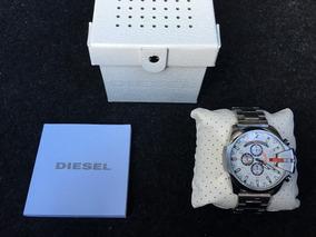 Relógio Diesel Prata E Branco