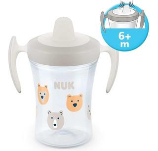 Vaso Para Bebes Nuk Trainer Cup Pico Blando +6 Meses 230ml