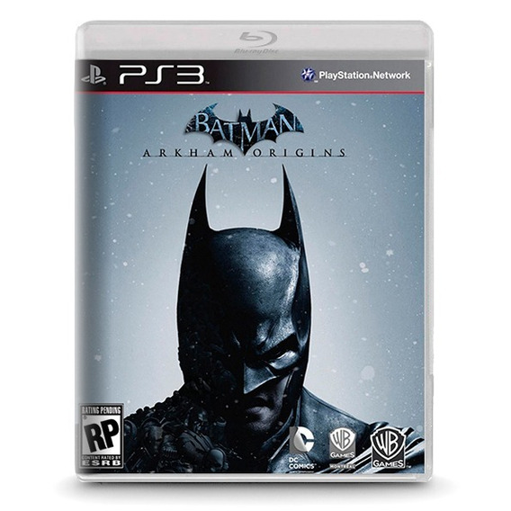 Batman: Arkham Origins - Novo Original Playstation Ps3