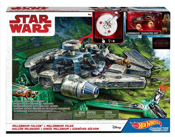 Star Wars Halcon Milenario Hot Wheels The Last Jedi