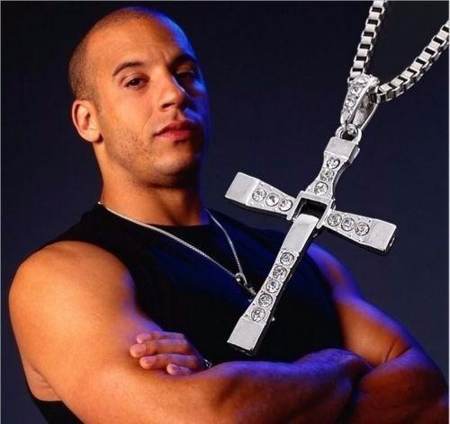 Corrente Cruz Dominic Toretto Velozes E Furiosos Prata