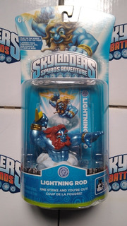 Skylanders Spyros Adventure Lightning Rod
