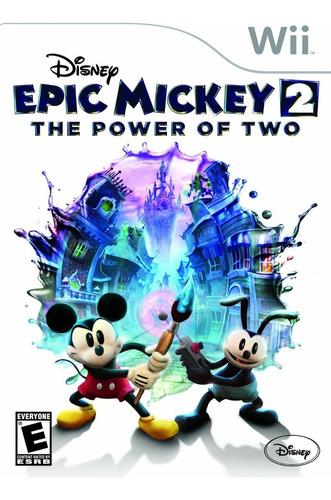 Juego Nintendo Wii Original - Epic Mickey 2  - Wiisanfer