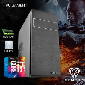Cpu Intel I7 7700 Kaby Lake, 32gb Ddr4, 1tb, Gf 2gb 710 Gt