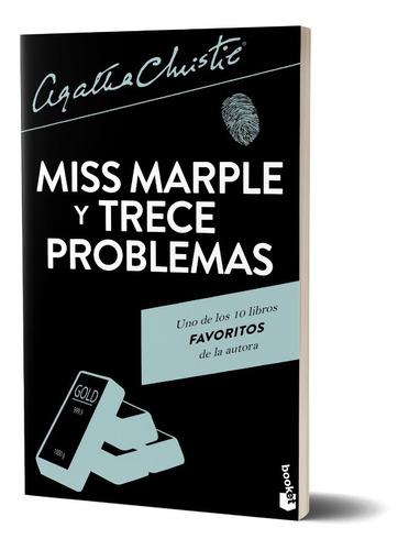 Imagen 1 de 5 de Miss Marple Y Trece Problemas   De Agatha Christie - Booket