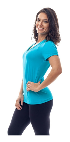 Camiseta Baby Look Dry Fit Roupa Feminina Corrida Fitness