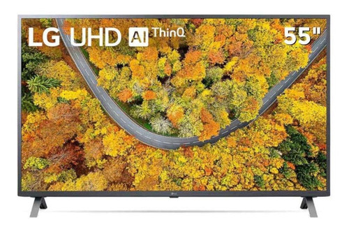 Imagem 1 de 4 de Smart Tv 55? Ultra Hd 4k Led LG 55up7550psf