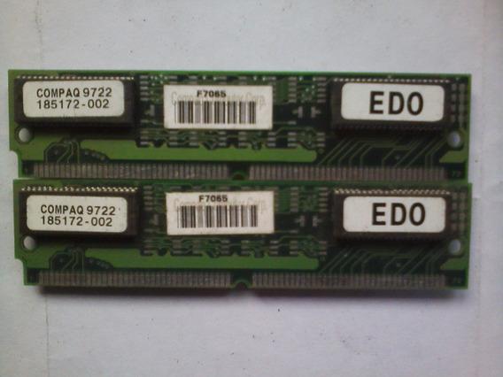 Memorias Edo Compaq 16mb 2x8