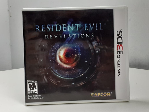 Resident Evil Revelations 3ds Americano Semi Novo Original