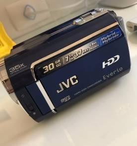 Filmadora Jvc Everio 30gb Zoom 35x Acompanha Bolsa Case