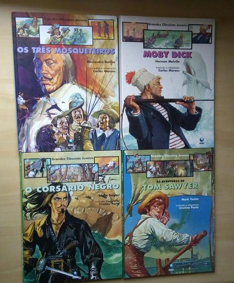 Livro Grandes Clássicos Juvenis 4 Volumes