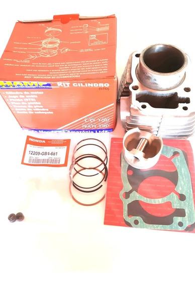 Kit Cilindro Motor Titan/fan/bross 150 Hamp Original Honda.