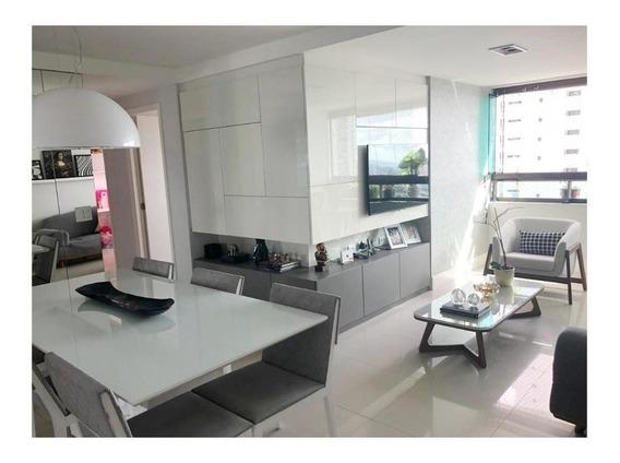 Apartamento Em Rosarinho, Recife/pe De 113m² 4 Quartos À Venda Por R$ 850.000,00 - Ap273839