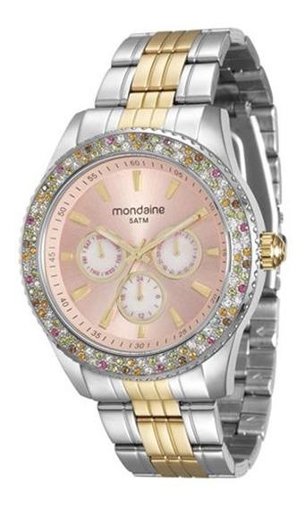 Relógio Mondaine Feminino Cristais Color 78731lpmvba4