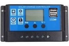 2 Controladores Solar 30a Para Painel Solar 12v/24v