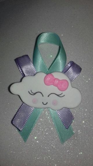 Distintivo/corsage O Llavero Nube Baby Shower
