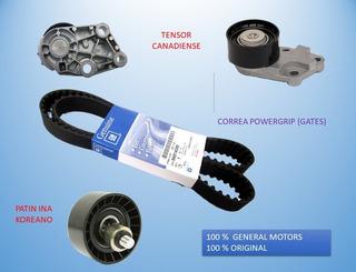 Kit Repartición Chevrolet Aveo 1.4 1.6 Original Gm Garantia