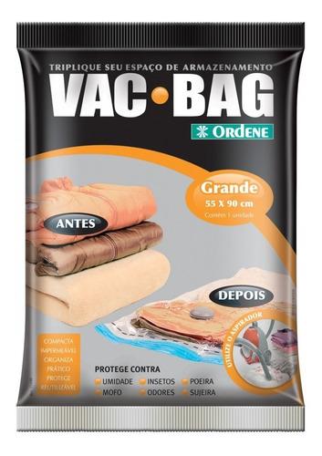 Bolsa Al Vacío Para Ropa/alcolchado Vac Bag Grande