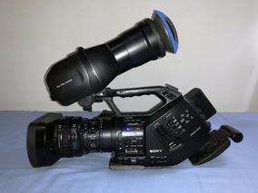 Sony Pmw Ex3 Xdcam + Acessórios / 327h De Uso / Impecável