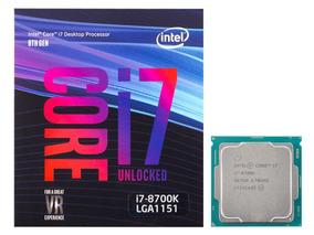 Processador Intel Core I7-8700k