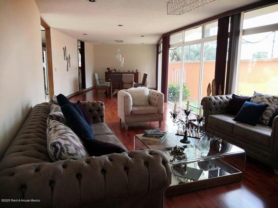 Casa En Renta En Ciudad Satelite, Naucalpan De Juarez, Rah-mx-20-2783