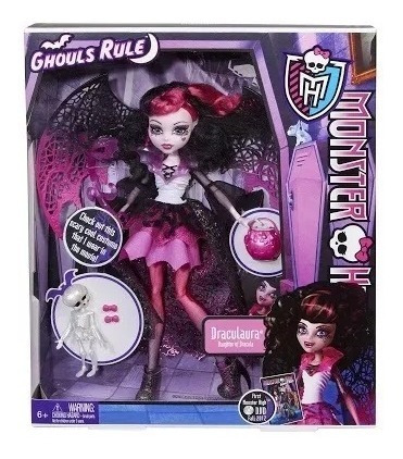 Monster High Ghouls Rule Draculaura - Ler Descrição