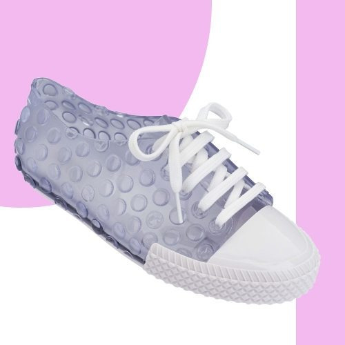 Melissa Polibolha Sneaker Tênis Branco Rosa Original + Nf