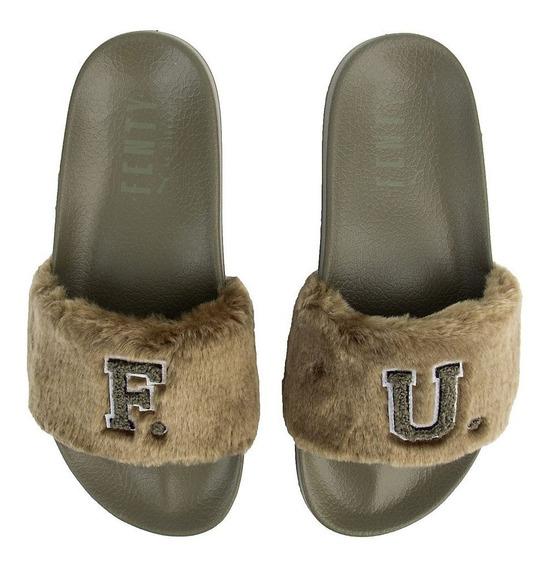 Sandalias Puma Leadcat Fenty Fur 24 Originales