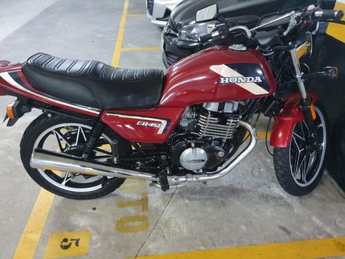 Imagem 1 de 11 de Honda Cb 450cc