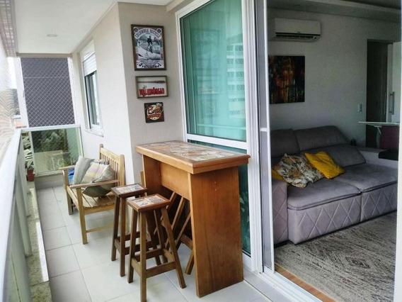 Apartamento Com 3 Dormitórios À Venda, 91 M² Por R$ 420.000 - Pagani I - Palhoça/sc - Ap5825