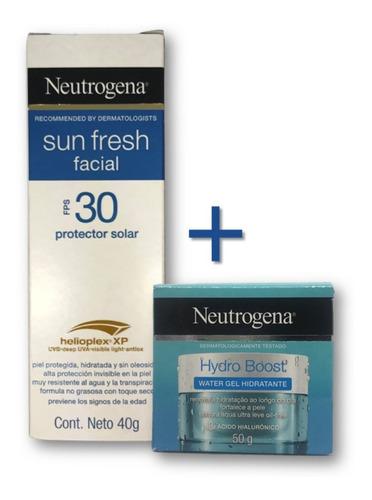 Kit Neutrogena Rosto: Protetor Solar E Hidratante Oil Free