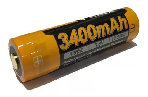 Imagen 1 de 2 de Bateria Pila Recargable Original Fenix 18650 3400mah