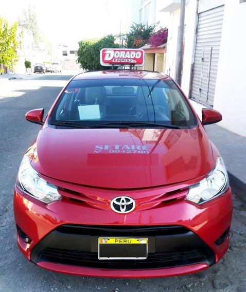 Toyota Yaris Modelo 2015 Con Setare