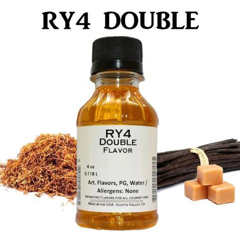 Imagen 1 de 1 de Aroma Concentrado Ry4 Double 118 Ml Tfa (original)