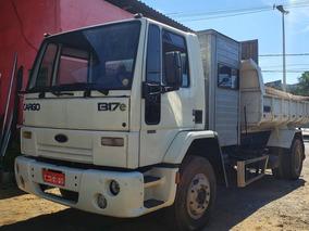 Ford Cargo 1317 Basculante Cabine Suplementar 4l