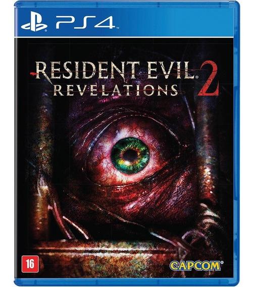 Resident Evil Revelations 2 Ps4 Mídia Físico Novo Português