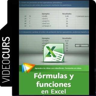 Aprende Formulas Y Funciones En Excel - Videocurso Completo