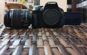 Canon Rebel T3i + Lente 18-55mm