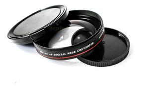 Grande Angular Slim 52mm Nikon D3000 D3100 D3400 D3300 18-55
