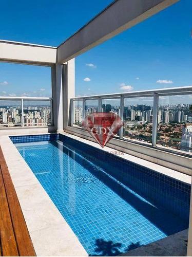Cobertura Residencial À Venda, Campo Belo, São Paulo. - Co0941