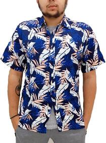 Camisa Floral Estampa Florida Camiseta Havaiana Verão 2018