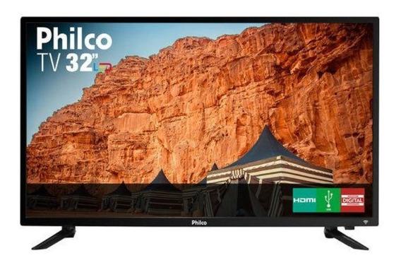 Tv Led 32 Philco Ptv32c30d Hd Com Conversor Digital 2 Hdmi 1 Usb 60hz - Temos Ótimos Preços, Procure
