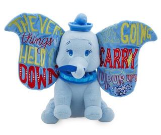 Disney Store Wisdom Dumbo Peluche Nuevo!!