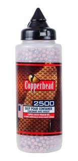 Balines Crosman Copperhead Botella 4.5 Mm X 2500 Unidades Bb