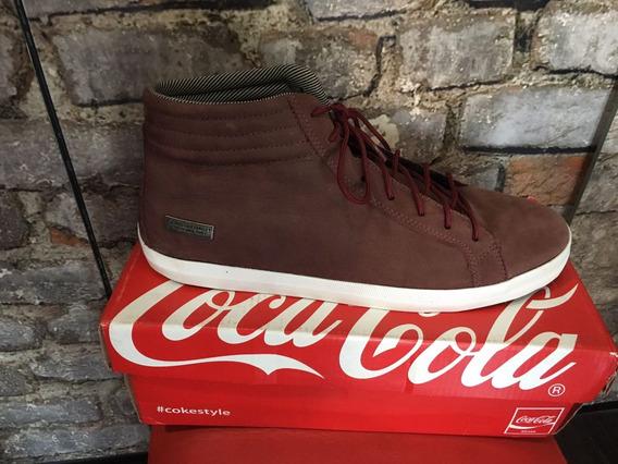 Botinha Cano Curto Coca Cola 44
