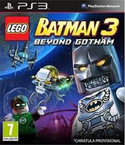 Lego Batman 3 - Ps3 - Psn - Original Em Midia Digital